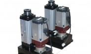 折返式电动缸生产厂家,推力10KN/1吨,行程50mm,速度50mm/s