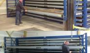 佛山市货架_立式板材货架上门专业定制_货架和阁楼