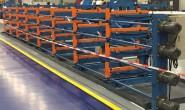 10米以上长度钢管存放架 伸缩悬臂式货架与传统悬臂货架区别
