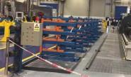 让仓库提升3倍存储空间利用率–伸缩式悬臂货架