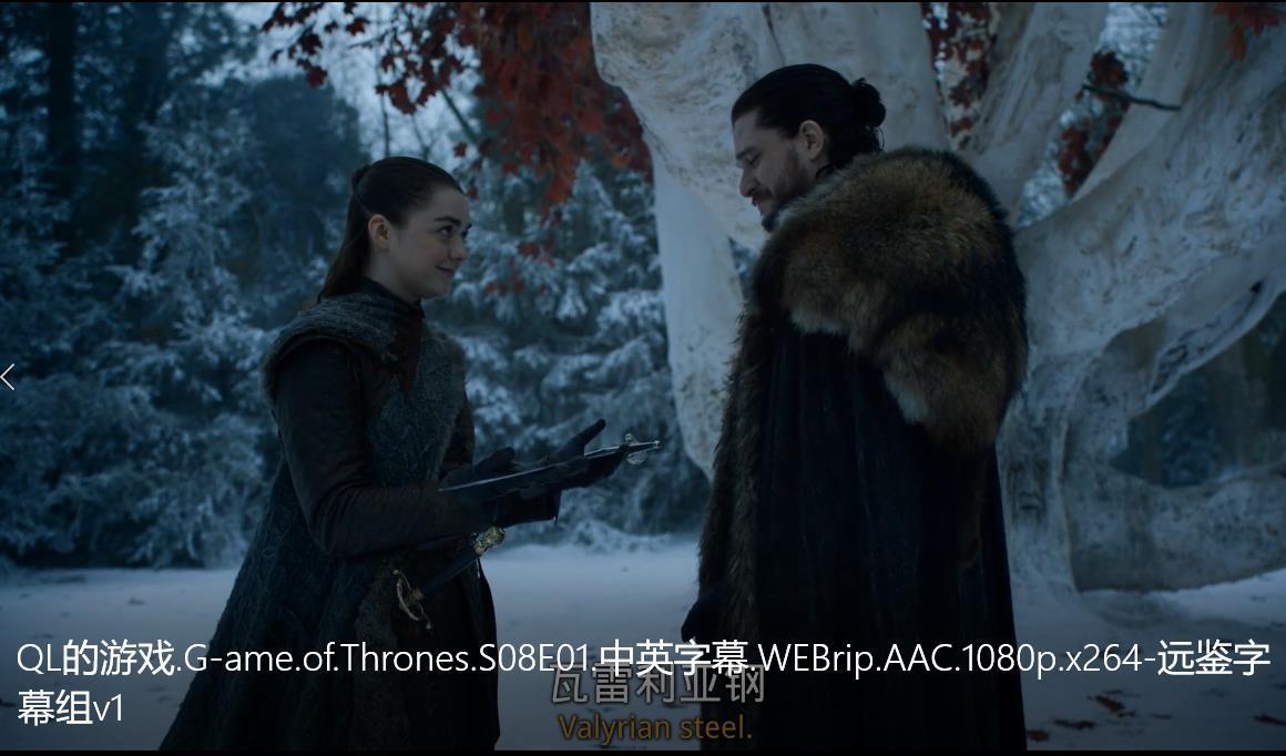 权力的游戏第八季 第一集S08E01资源来了 720p 高清的